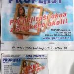 Proplast_inzerát v novinách_Petra Čáslavová
