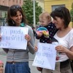 šťastné matky, které již porod zažily
